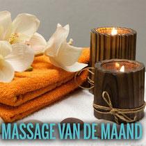 Ontspannings-massage icm Hotstones
